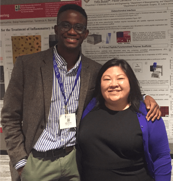 Dammy and Lesley at SFB 2018